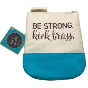 Kick Brass Pureology Bag NWT